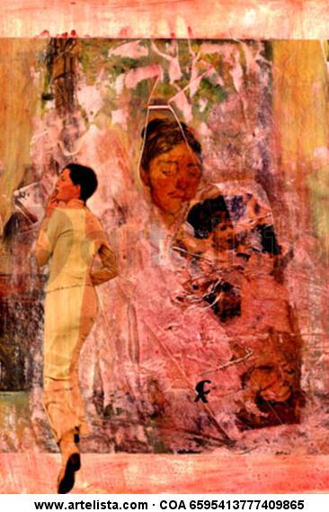 11-Muros de Arte x Cris Acqua Papel Media Mixta Figura