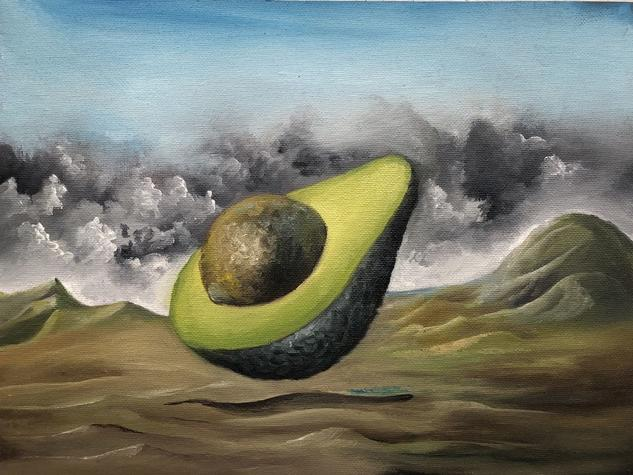 aguacate mágico Others Oil Canvas