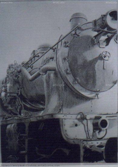 Locomotora a vapor Carboncillo
