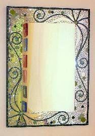 Espejos del jard n juan carlos del valle for Utilisima espejos decorados