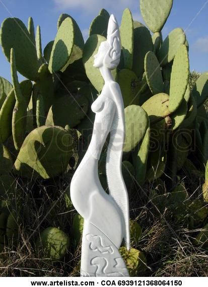 015-REINA NINFA Mármol Figurativa