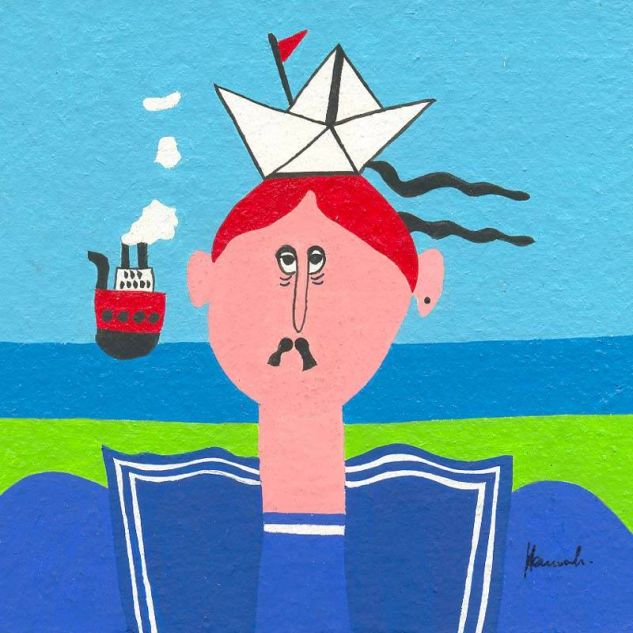 marinero Acrílico Tabla Marina