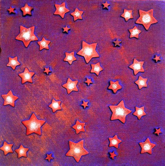 Estrellas Acrílico Tela Otros