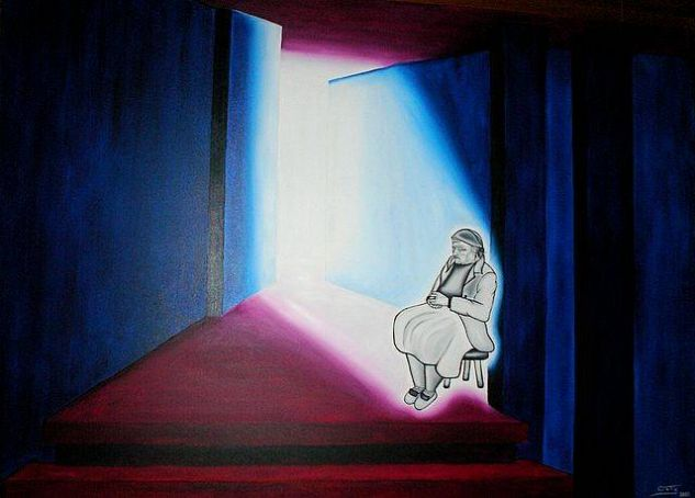 solidão Óleo Tela Otros