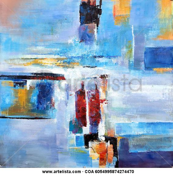 Abstract 284 Otros Óleo Lienzo