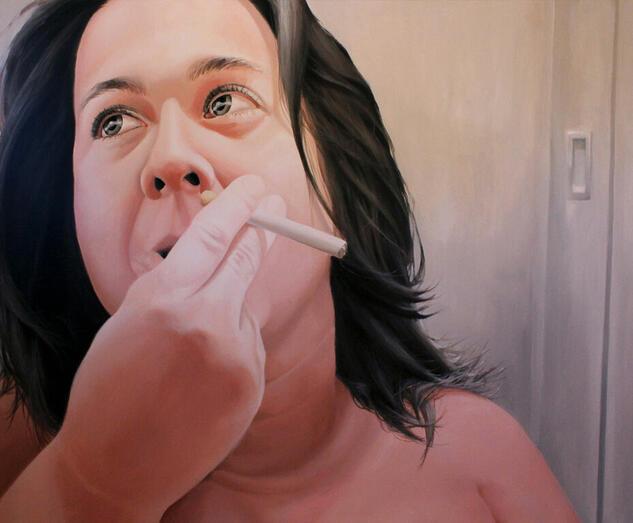 LAS VIRTUDES VICIADAS 2 Portrait Acrylic Canvas