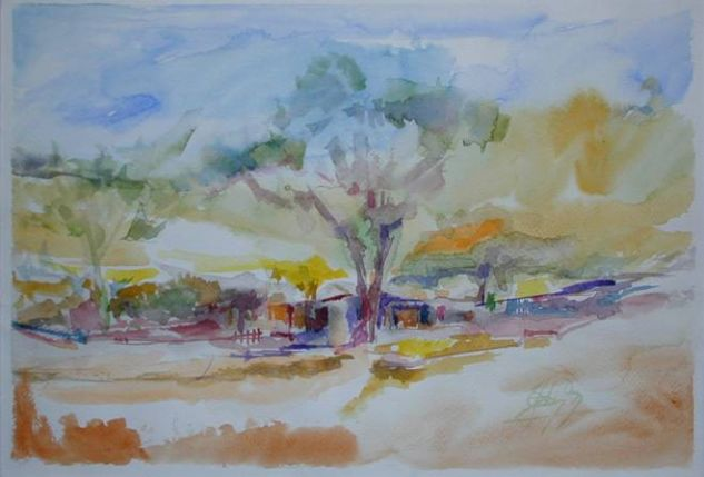 PAISAJE DE JESUS MARIA CORDOBA REP.ARGENTINA Oil Canvas Landscaping