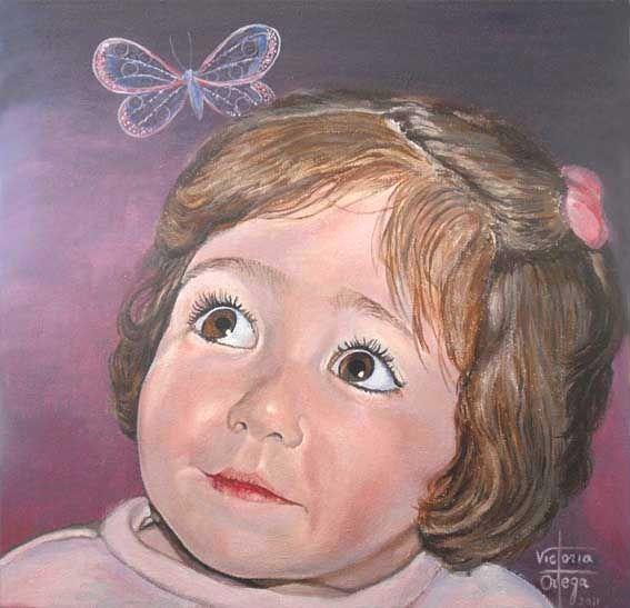 Retrato de Clara