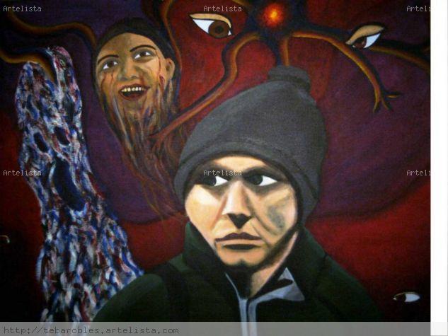 ESQUIZOFRENIA PARANOIDE Canvas Acrylic Others