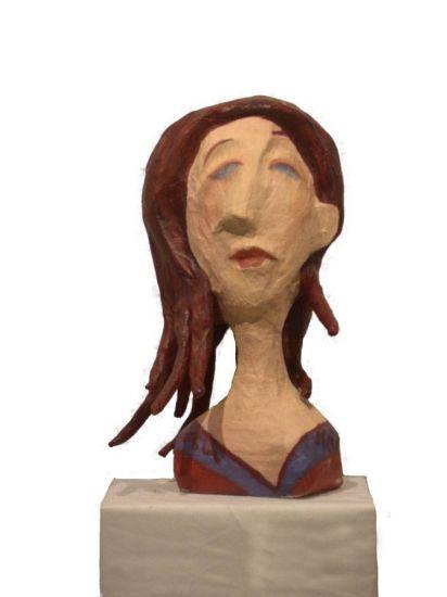cabeza Cerámica Figurativa
