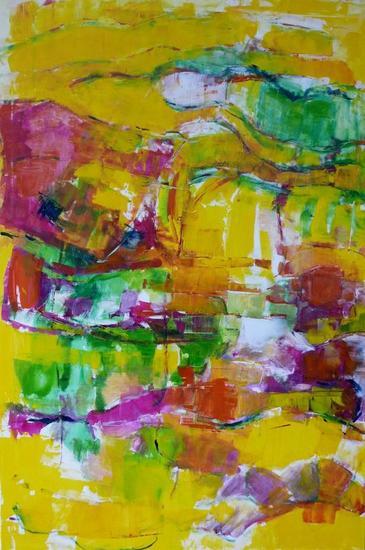Yellow tigres Otros Óleo Lienzo