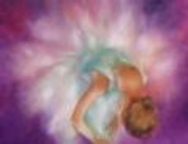 bailarina arreglando su tutu Canvas Oil Figure Painting
