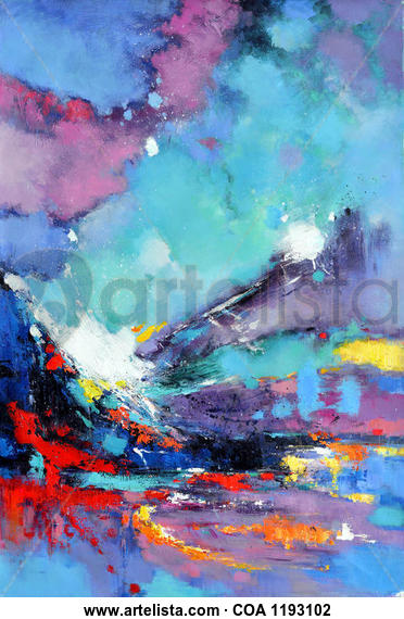 Chaos 684 Others Oil Canvas