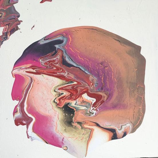Fluyendo emociones 50 Panel Acrylic Others