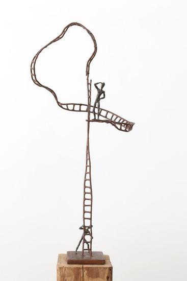 Intersum de acero - José Onieva Bronce Figurativa