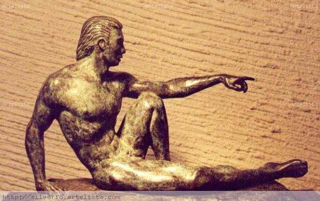 ADÁN Bronce Figurativa
