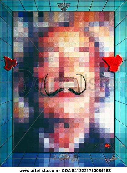 Los bigotes de Dalí