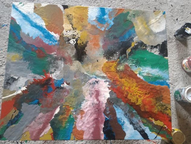 abstract  Figura Otros Óleo