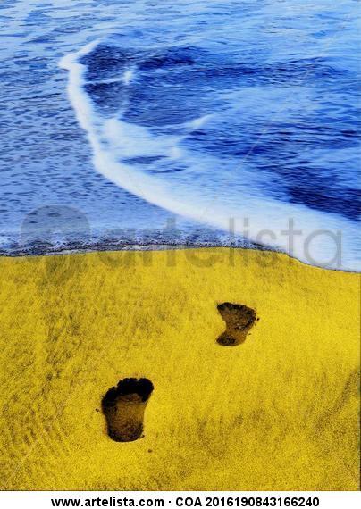 la playa Color (Digital) Viajes