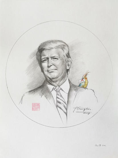 Drawing- 2020 Year Lápiz