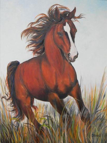 El Rojo Animals Oil Canvas