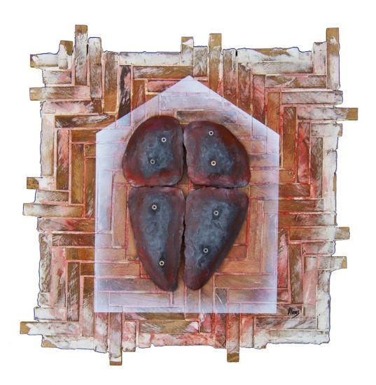 5000  golpes para forjar un corazón Madera Abstracta