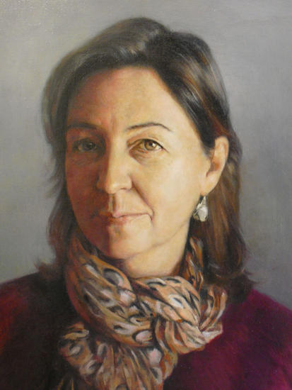 Ángeles Canvas Oil Portrait