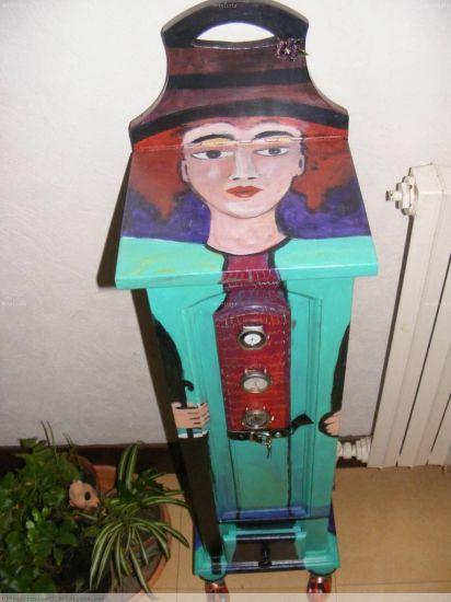mueble de paraguas y bastones