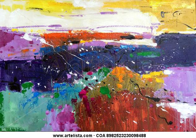 abstract 085 Otros Óleo Lienzo