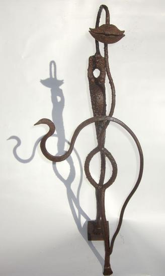 Femina II Metal Figurativa