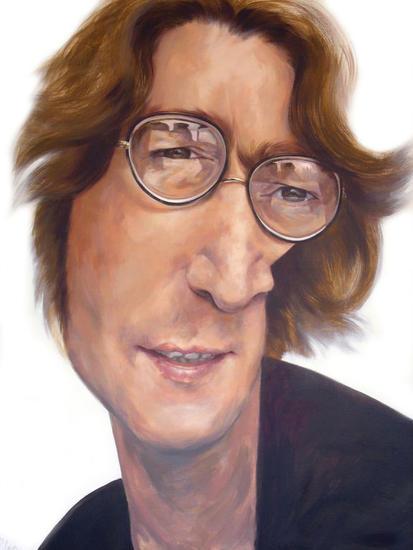 JOHN LENNON Portrait Acrylic Canvas