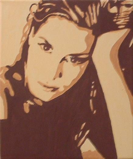 Lucia Acrílico Lienzo Retrato