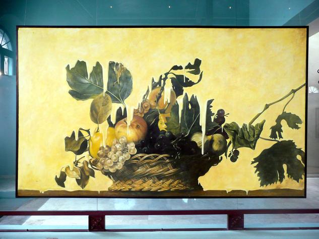La caída del imperio Oil Canvas Still Life Paintings