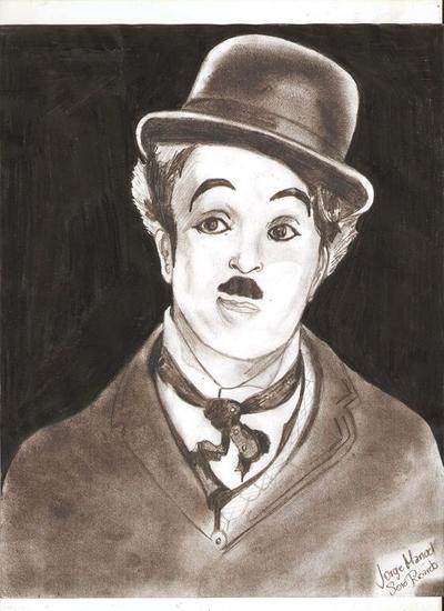 Charles Chaplin Grafito