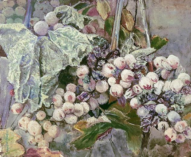 uvas Bodegones Óleo Lienzo