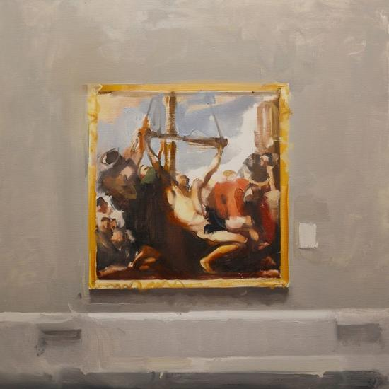 After Ribera Figure Painting Oil Canvas