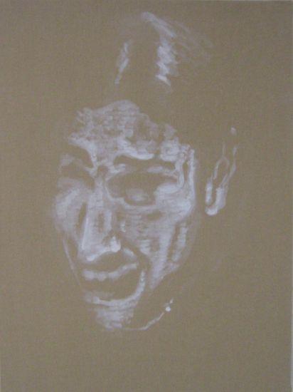 crying 5, 2009 Lienzo Óleo Figura
