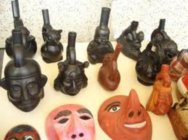 mascaras Linograbado
