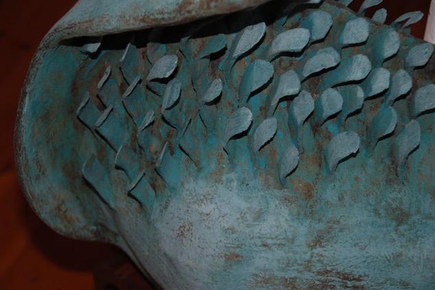 escamas ,pez Cerámica Abstracta