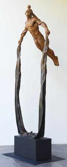 LEAP OF FAITH Bronze Figurative