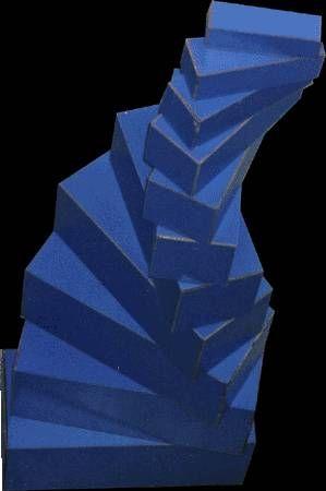 escalera de recuerdos Madera Figurativa