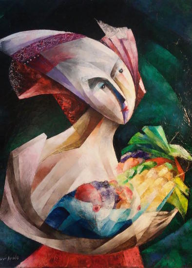 Eleodora Tela Óleo Retrato