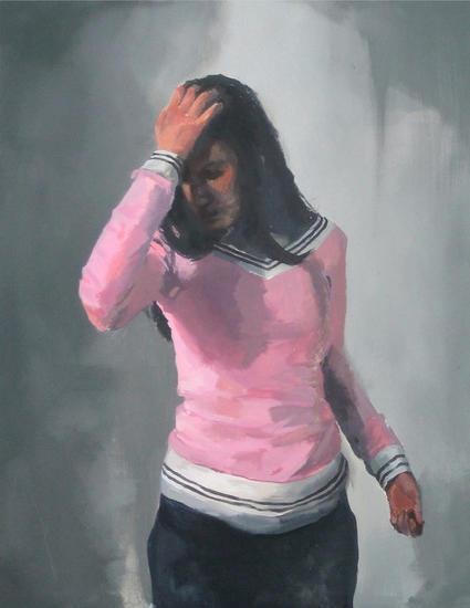 Remordimientos Figure Painting Acrylic Canvas