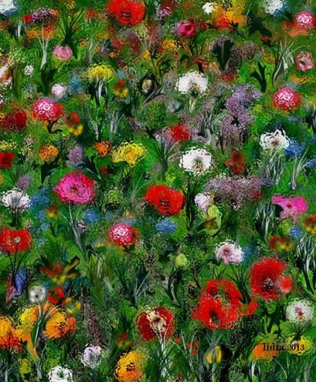 arte digital-floral-lidia stef