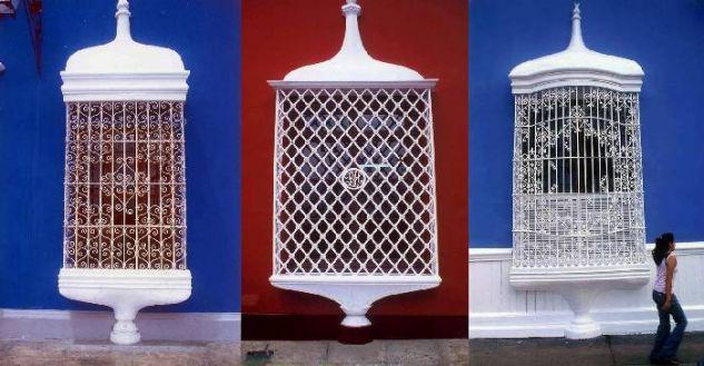 ventanas coloniales: