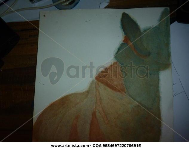 Tuncha Malanga Querida Cartulina Acuarela Animales