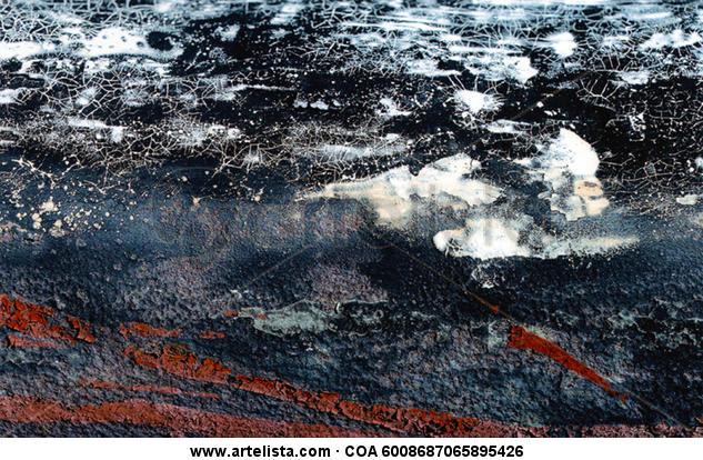 Noche estrellada sobre el pantano  Color (Digital) Conceptual/Abstracto