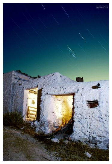 poblado abandonado ( almeria ) andalucía
