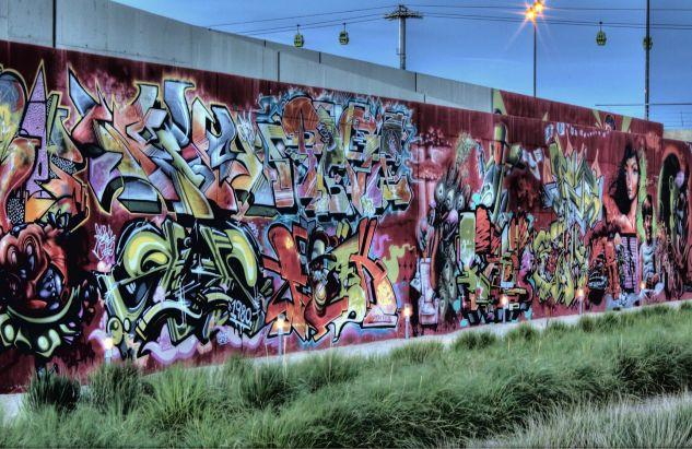 Área de graffitis Travel Color (Digital)