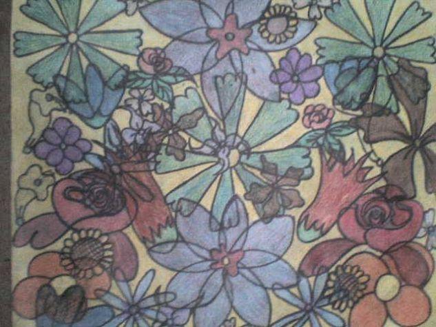 flores Otros Cartulina Paisaje